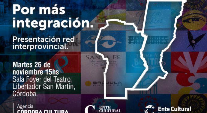 El Ente Cultural presentará su trabajo interprovincial en la ciudad de Córdoba