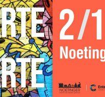 """""""ARTE+ARTE"""" llega a Noetinger"""