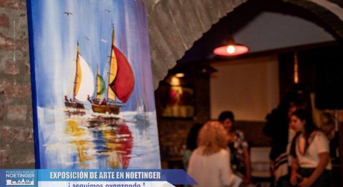 "Noetinger recibió la Muestra ""ARTE+ARTE"""