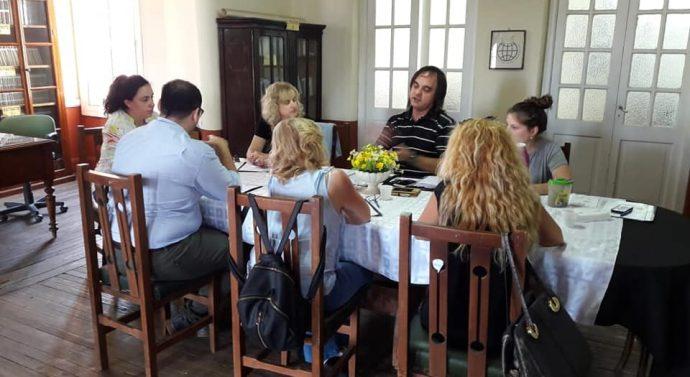 Nuevo encuentro del Ente Cultural en General Roca