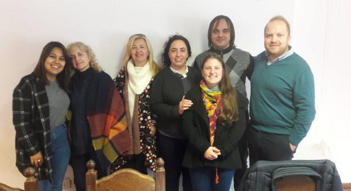 """Encuentro del """"Ente Cultural del Sudeste Cordobés"""" en Noetinger"""