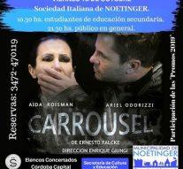 "Llega la obra teatral ""Carrousel"" a Noetinger"