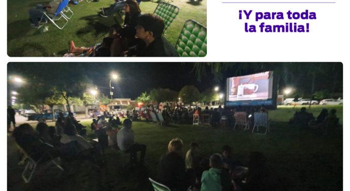 """""""Cine bajo las Estrellas"""" en Noetinger"""