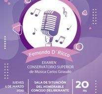 """Los Surgentes: """"Recital de canto lírico"""""""