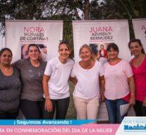"""La Muestra """"Ellas y la lucha por sus derechos"""" visitó Noetinger"""