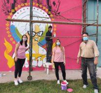 """Los Surgentes: Un Mural para """"La Leo"""""""