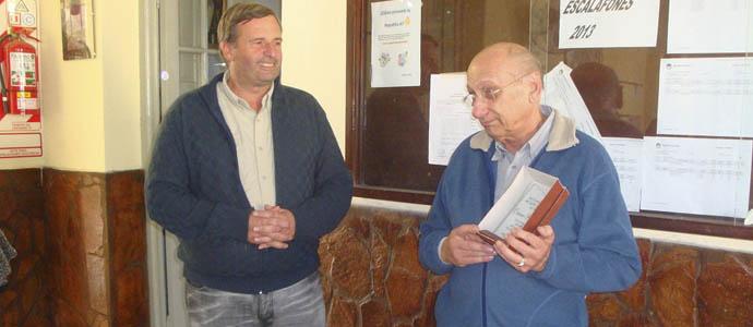 Salto Grande: Reconocimiento a Corino Ribodino