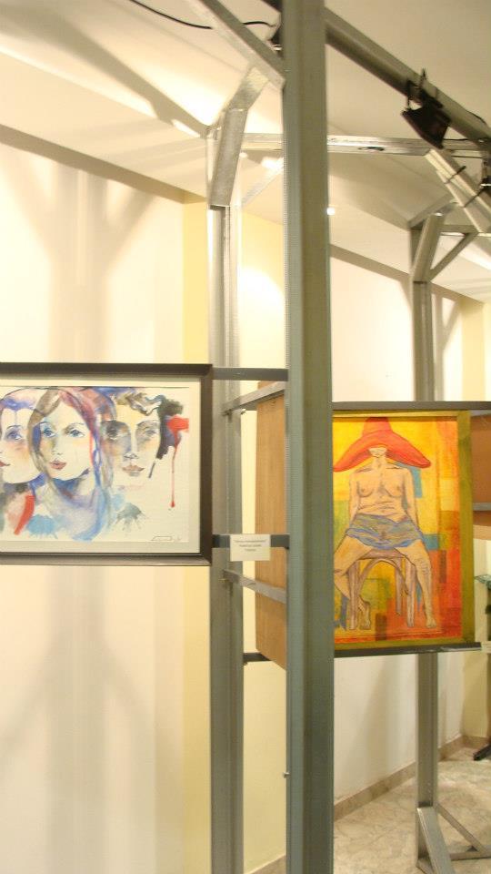 """María Susana: Todos los Artistas Plásticos en """"Forma y Color 2013"""""""