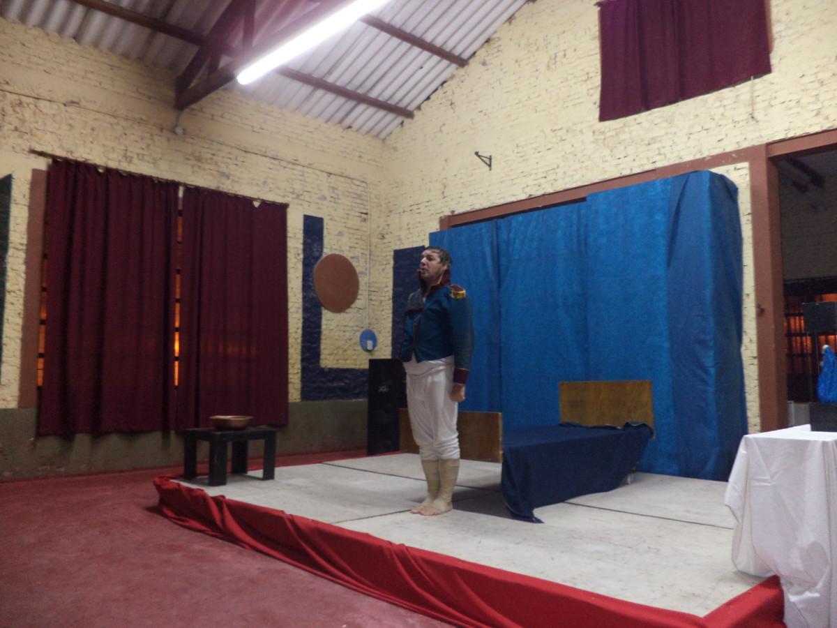 """Emotiva presentación de """"El Delirio y la Lluvia"""" en Montes de Oca"""