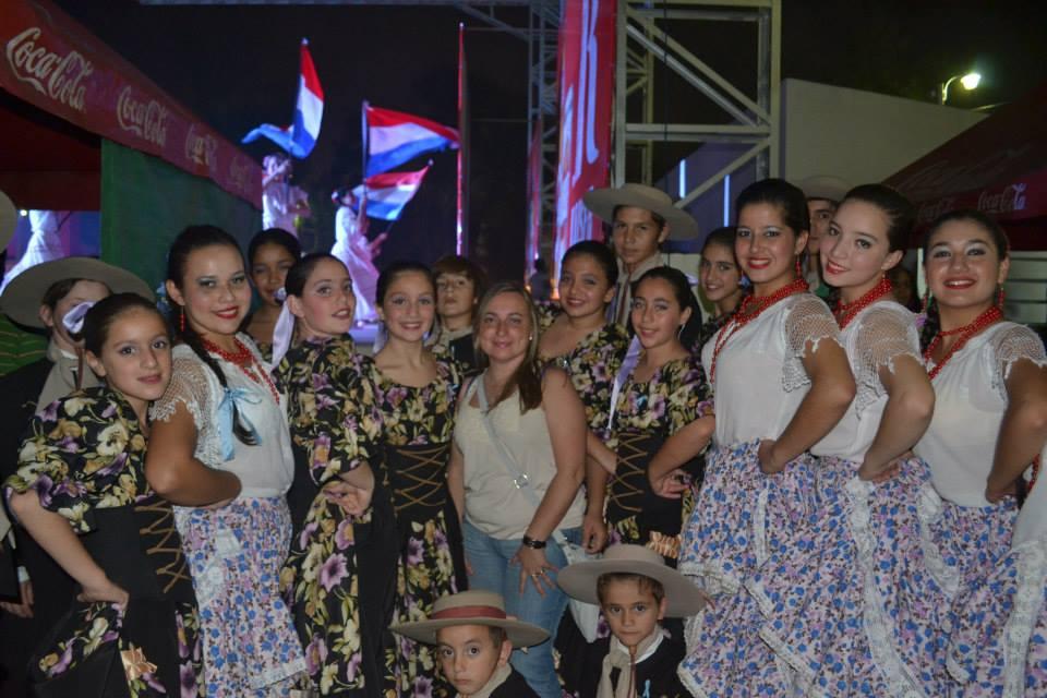 """""""El Primer Encuentro Sudamericano Kunu'u Folklórico Paraguay 2013"""" culminó con mucho éxito!"""