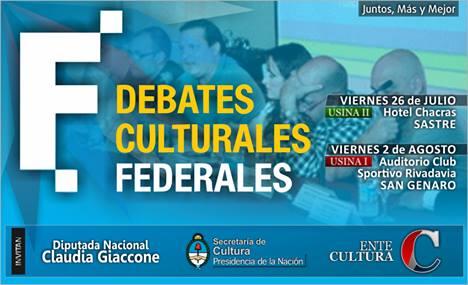 Los «Debates Culturales Federales» llegan a Santa Fe