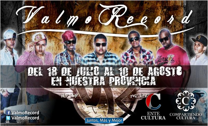 """""""Compartiendo Cultura"""": Valmo Records-Venezuela- recorrerá nuestra provincia"""