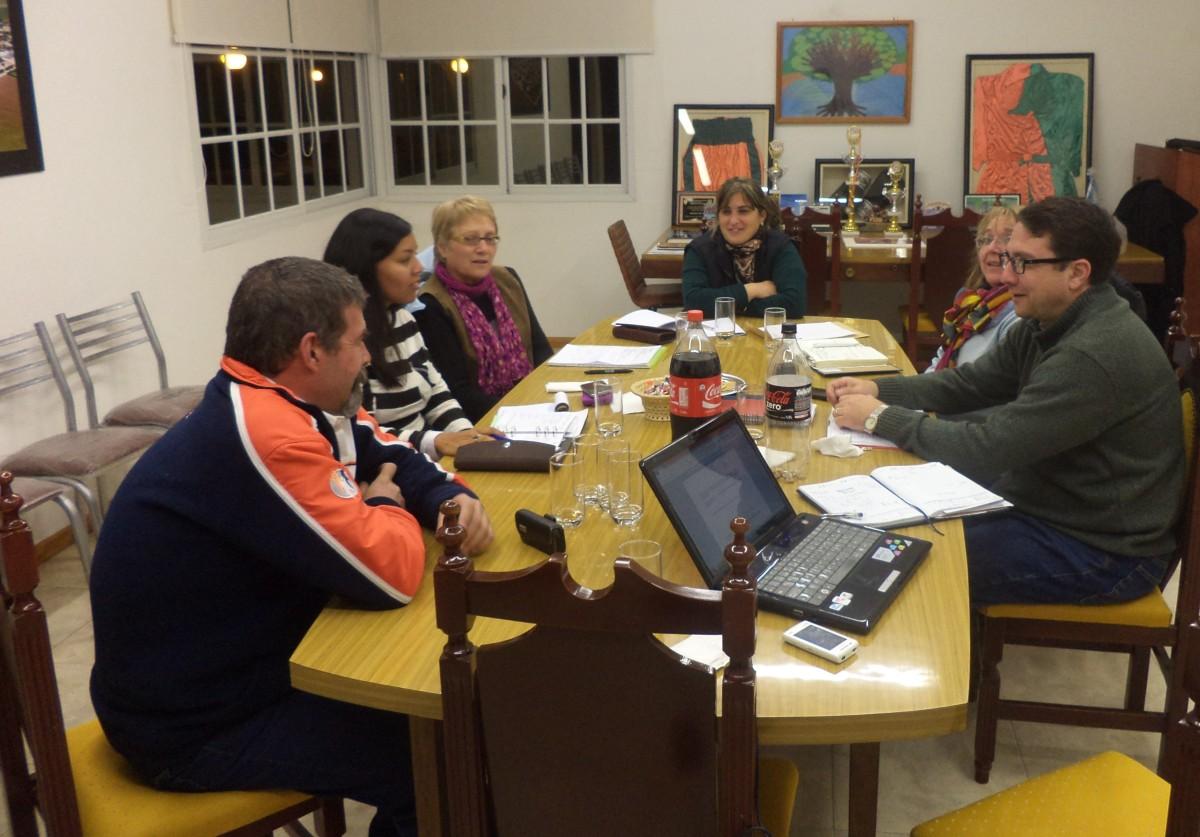 La Usina Cultural I se reunió en Montes de Oca