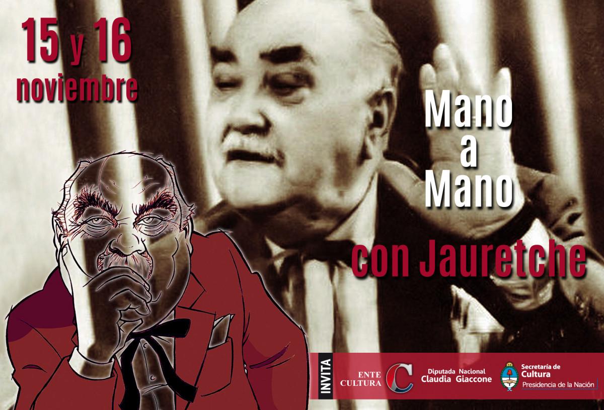 """La Muestra """"Mano a Mano con Jauretche"""" llega a Cañada de Gómez y Tortugas"""