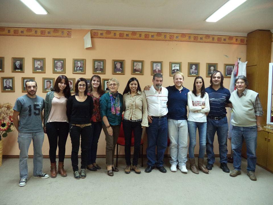 La Usina Cultural I se reunió en Los Cardos