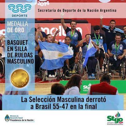 Totoras: Conferencia de Prensa de la Selección Argentina de Básquet sobre Silla de Ruedas