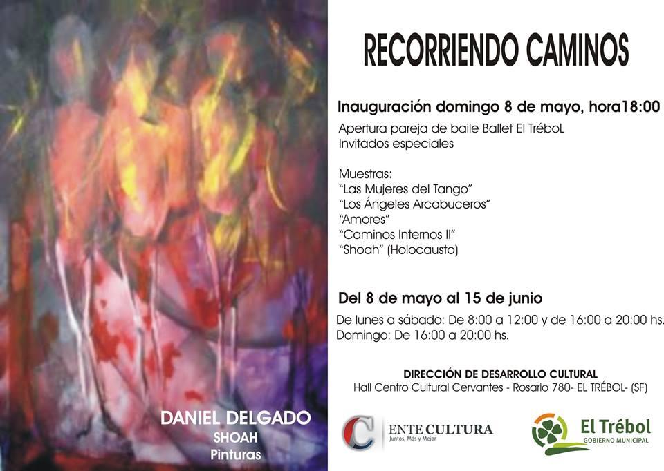 """Compartiendo Cultura: Llega la Muestra """"Recorriendo Caminos"""" a El Trébol"""