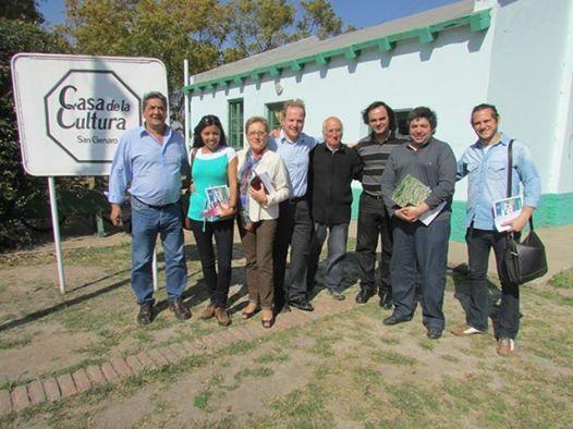 Encuentro de la Usina Cultural I en San Genaro