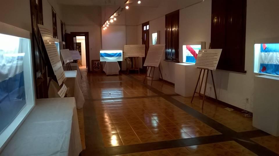 """Los Cardos recibe la Muestra """"Las Banderas de Belgrano"""""""