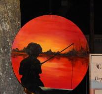 Artistas Plásticos de Romang exponen en Montes de Oca