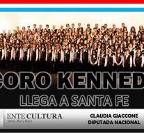 El Coro Kennedy se presentará en El Trébol, S.M. de las Escobas, María Susana y María Teresa