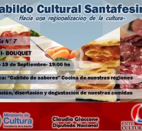 Bouquet será sede en el IV Cabildo Cultural Santafesino