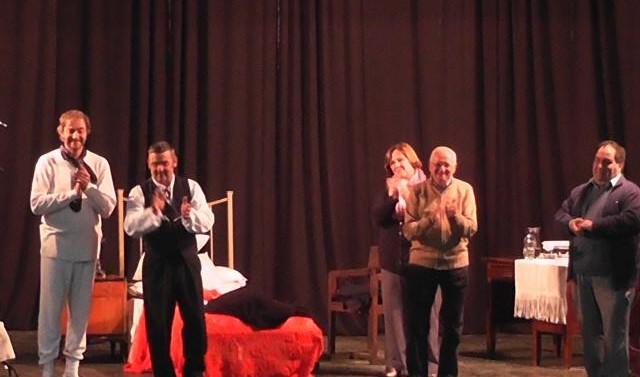 """Con total éxito inicio la gira provincial de """"El Teatro y la Historia"""" en Tortugas"""