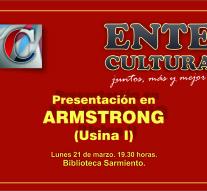 El Ente Cultural Santafesino se presenta en la Biblioteca Sarmiento de Armstrong