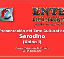 Presentación del Ente Cultural Santafesino en Serodino
