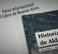 """El libro """"Historias de Aldao"""" presente en la """"42º Feria Internacional del Libro"""""""