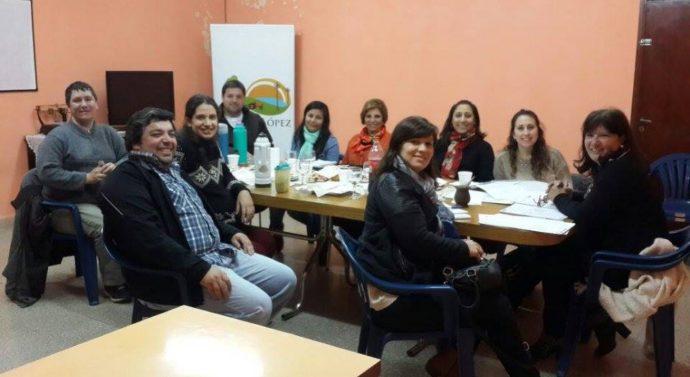 Encuentro de la Usina Cultural I (sur) en Lucio V. López