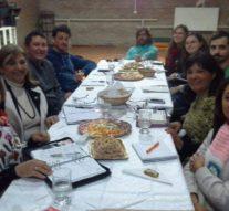 Ricardone recibió a los integrantes de la Usina I (sur)