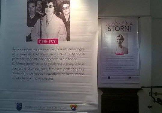 """La Muestra """"Ellas y la lucha por sus derechos"""" llegó a Salto Grande"""
