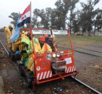 La Travesía solidaria en Zorra paso por Serodino