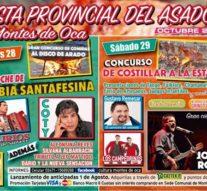 Jorge Rojas actuará en la Fiesta Provincial del Asador en Montes de Oca