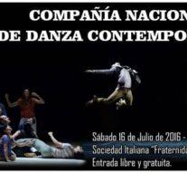"""Pablo Fermani y la """"Compañía Nacional de Danza Contemporánea"""" visitan San Jorge"""