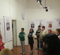 """Apertura de la Muestra """"Ellas y las luchas por sus derechos"""" en la ciudad de El Trébol"""