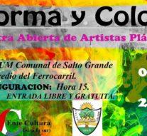 """La Muestra """"Forma y Color"""" llega a Salto Grande"""