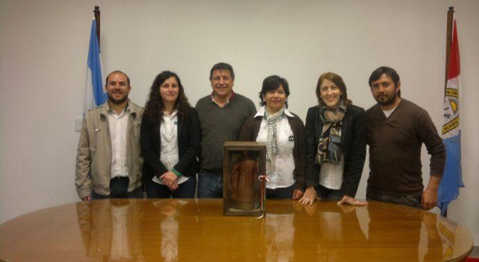 Bustinza recibió al Premio provincial «Julio Migno»