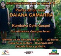 San Jorge: Daina Gamarra presentará sus colecciones de Alta Costura