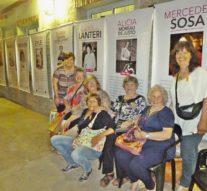 En Pueblo Andino se expone la Muestra «Ellas y la lucha por sus derechos»