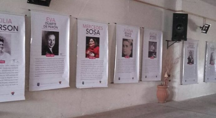"""La Muestra """"Ellas y la lucha por sus derechos"""" visita Peña """"El Amanecer"""""""