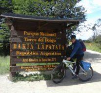"""Aventuras en bicicleta. Un """"Amanecer"""" en Lapataia"""