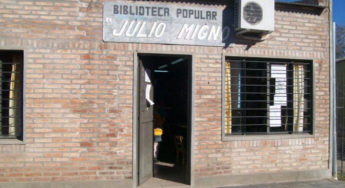 """La Biblioteca Popular """"Julio Migno"""" de Ibarlucea inicia su ciclo 2017"""