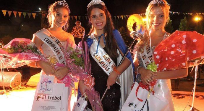 Tatiana García es la nueva Reina de los Carnavales Regionales El Trébol 2017