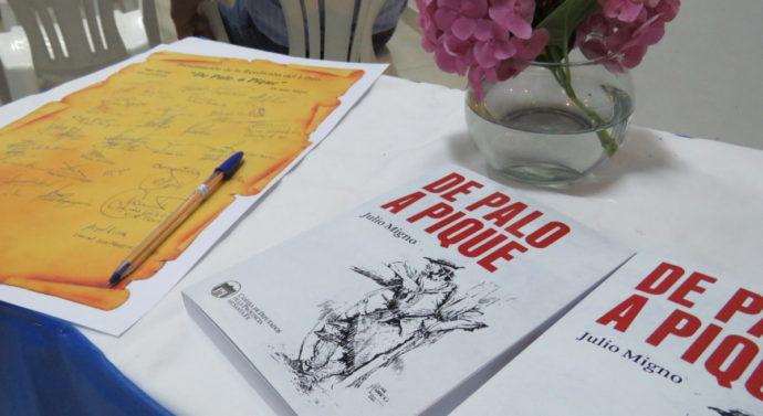 """""""De Palo a Pique"""" de Julio Migno, inicia su recorrido por todo el suelo santafesino"""