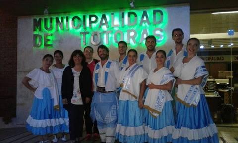 Se llevó a cabo el Festival Folklórico en la ciudad de Totoras