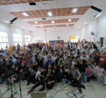 """En San Martin de las Escobas se presentó el """"Taller de Música"""" en dos jornadas"""