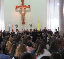 """En la ciudad de Las Rosas se presentó """"Recen por mí"""", la obra dedicada al Papa Francisco"""