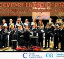 «Compartiendo Cultura»: El Coro Municipal de Gálvez se presenta en Ybarlucea